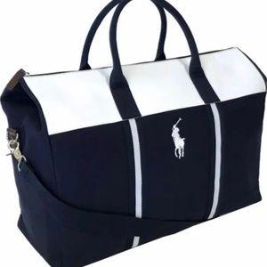Ralph Lauren Polo Duffel Bag Weekender Travel NEW